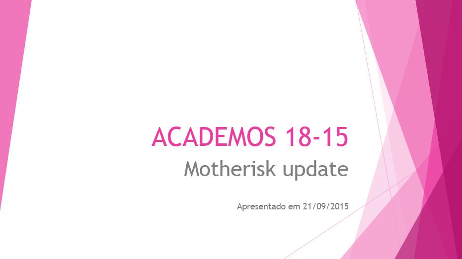 Motherisk update